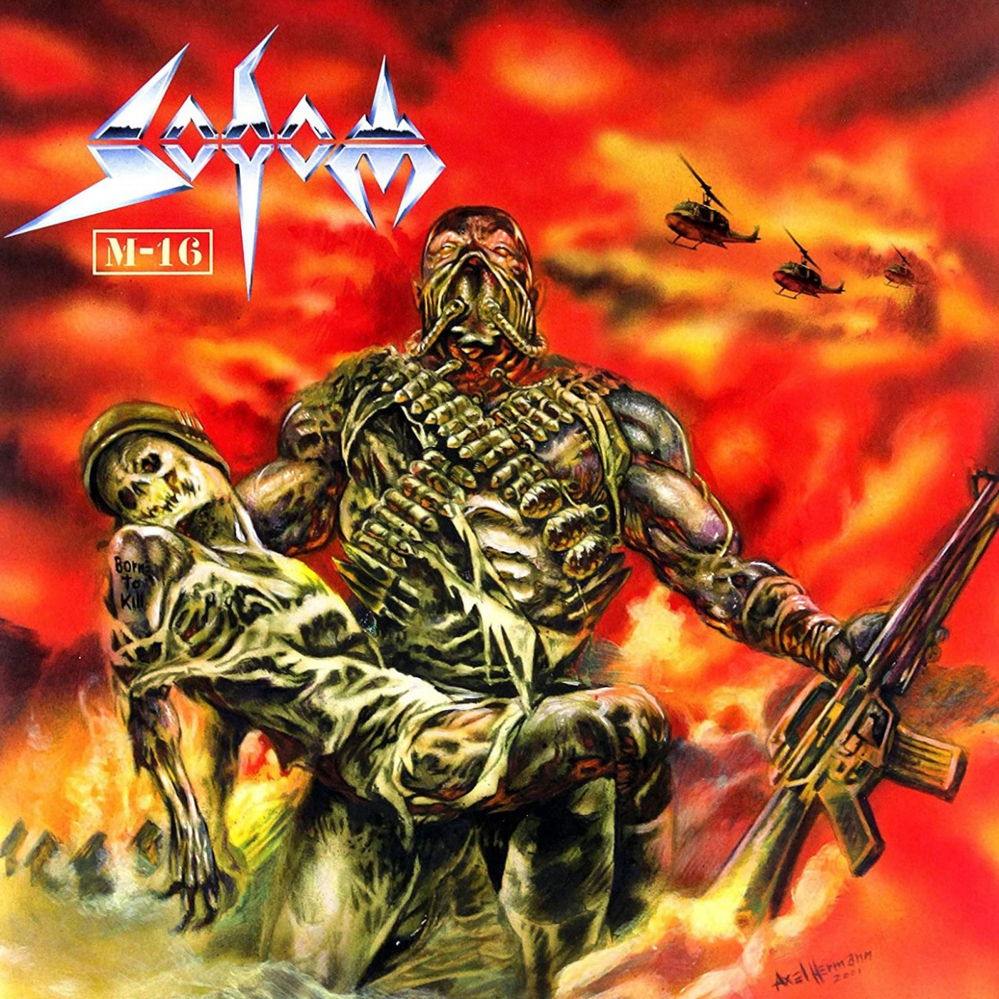 Review for Sodom - M-16