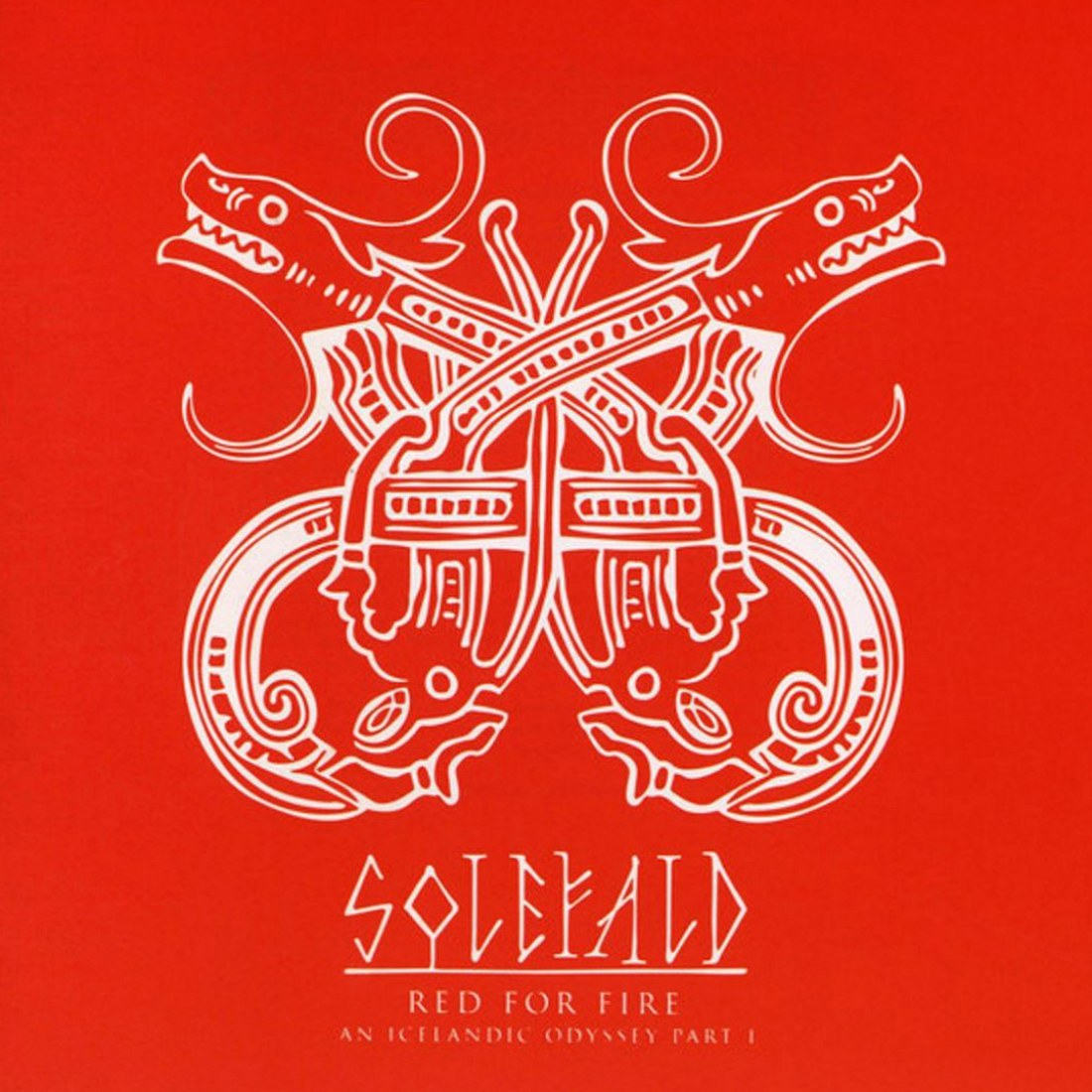 Review for Solefald - Red for Fire (An Icelandic Odyssey: Part I)