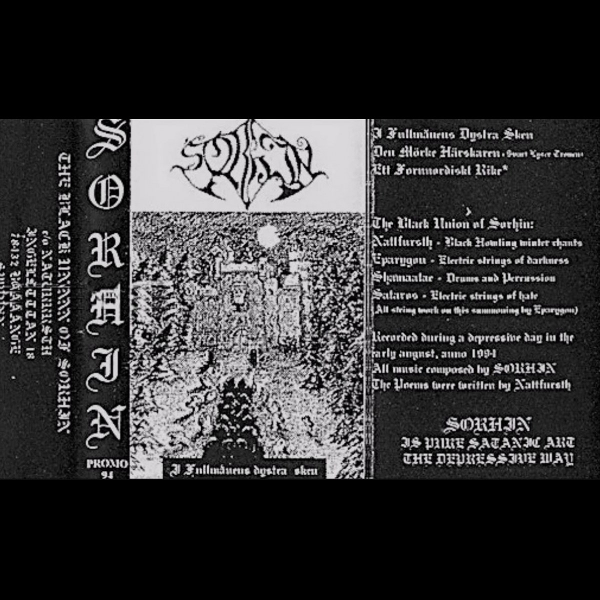 Sorhin - I Fullmånens Dystra Sken