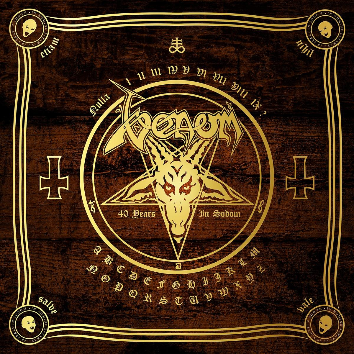 Venom - In Nomine Satanas - The Neat Anthology (40 Years in Sodom)