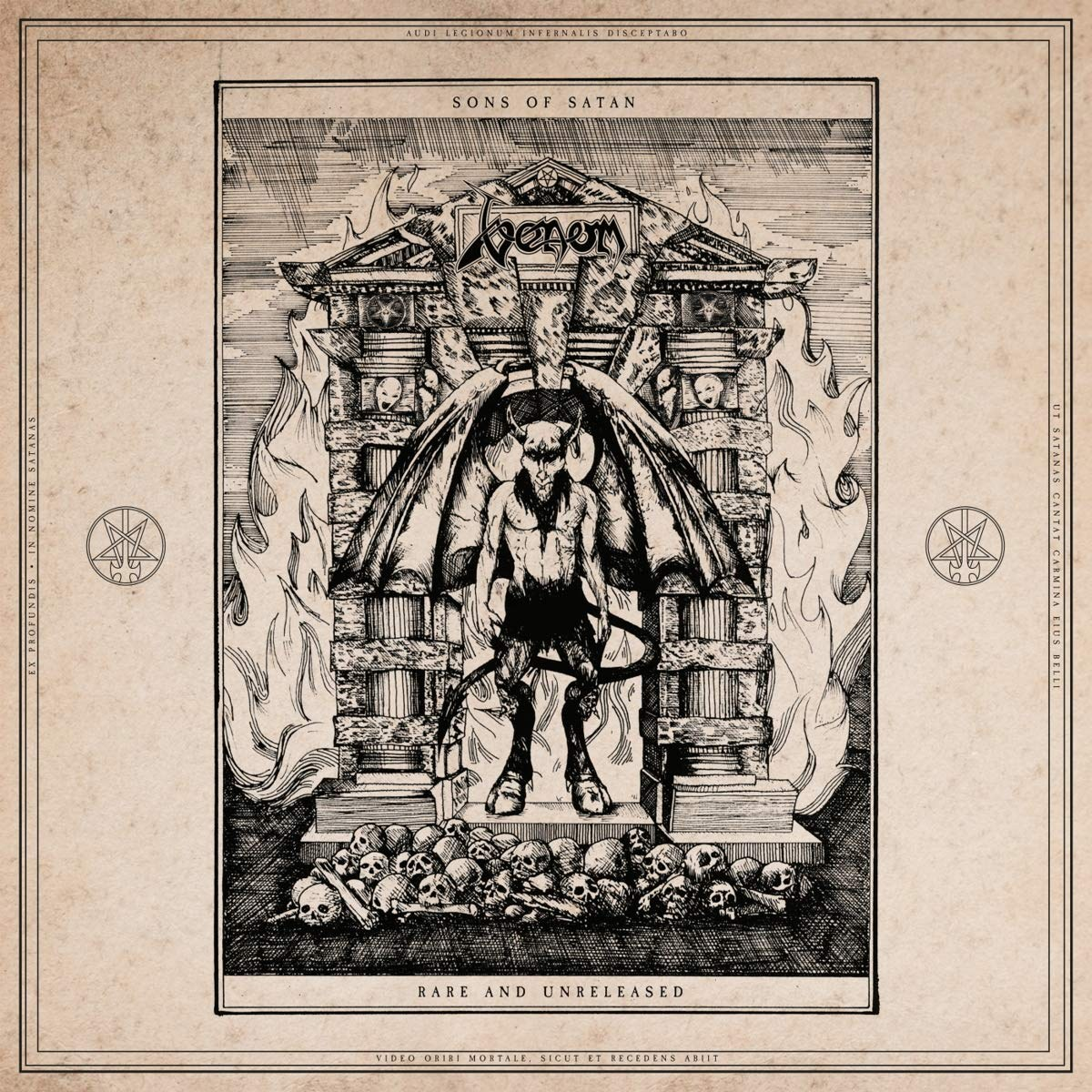 Review for Venom - Sons of Satan (Rare and Unreleased)