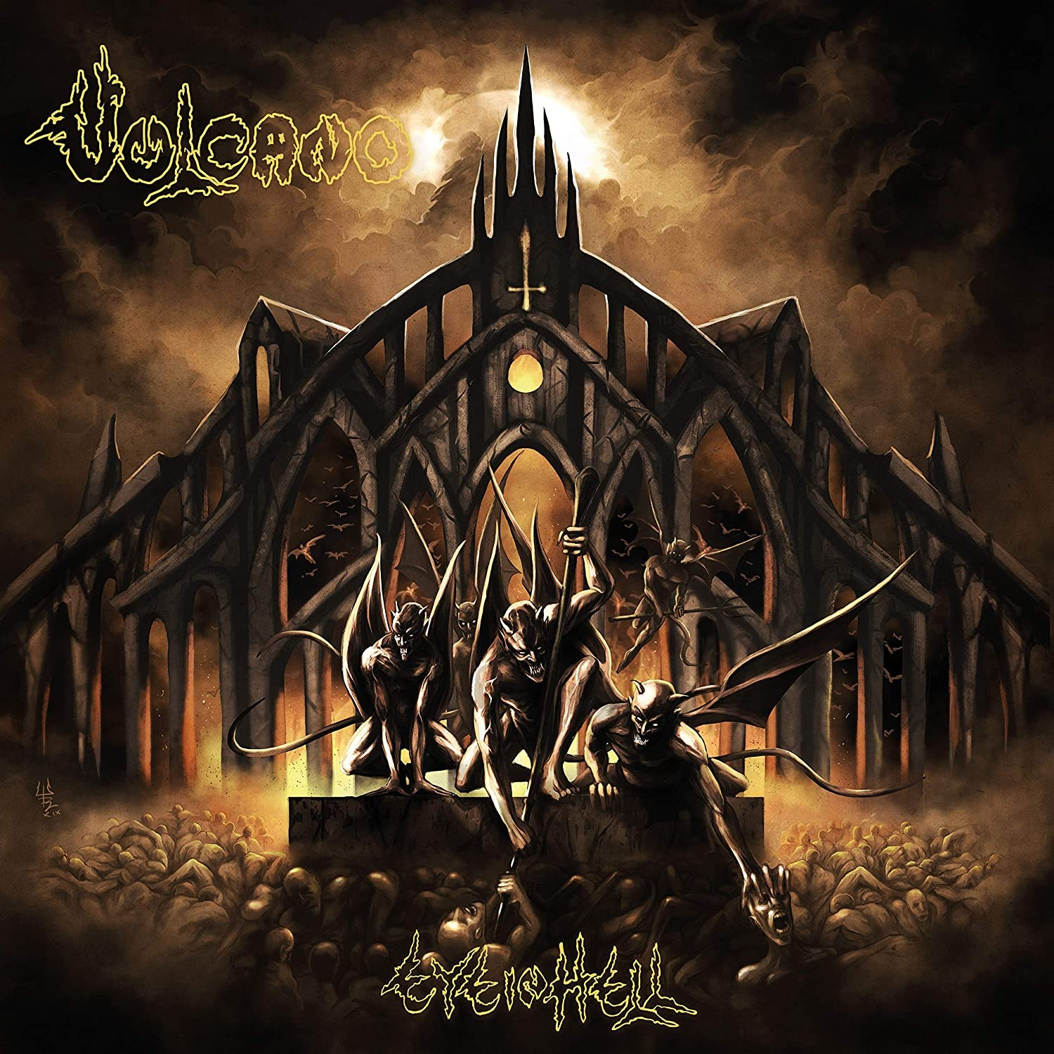 Review for Vulcano - Eye in Hell