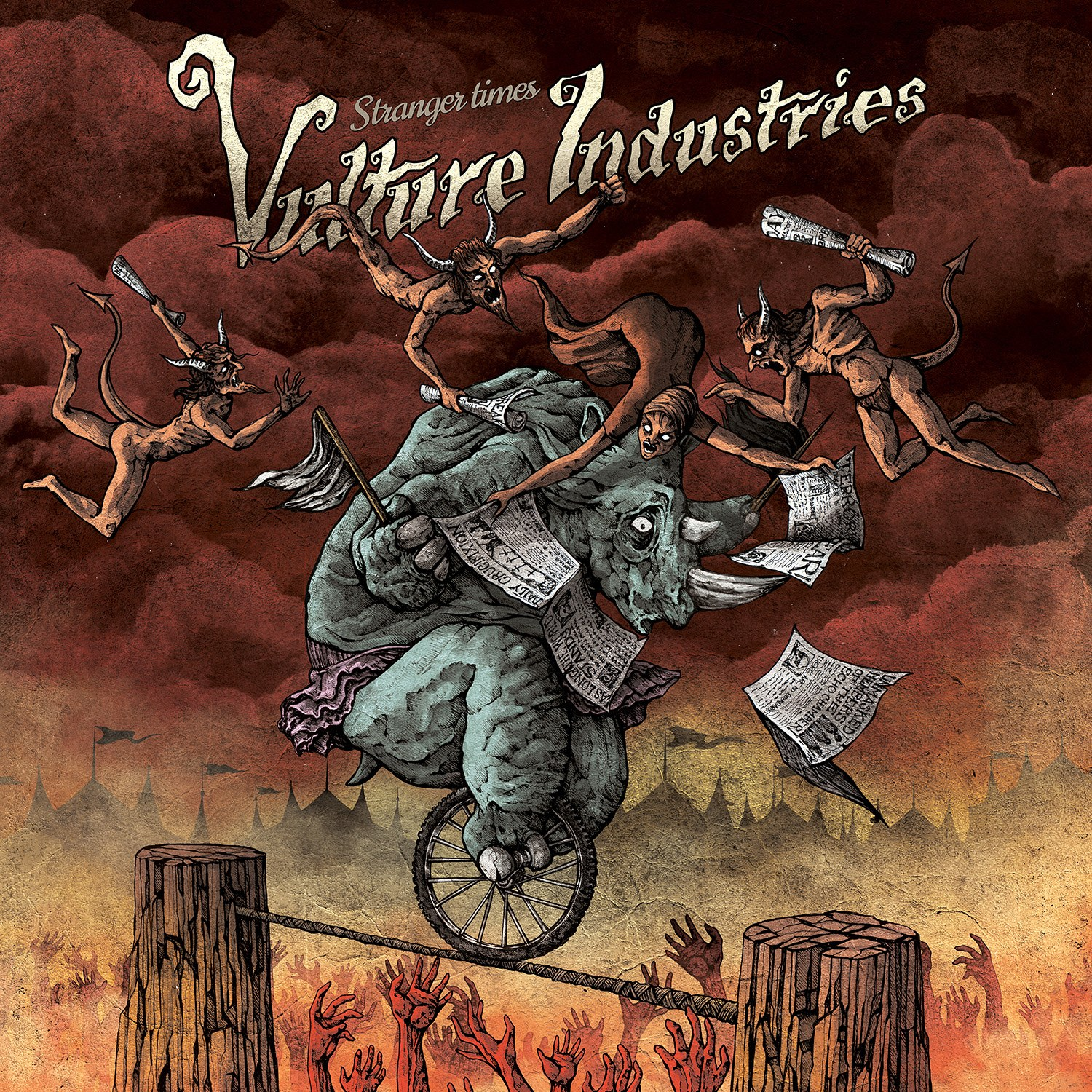 Reviews for Vulture Industries - Stranger Times