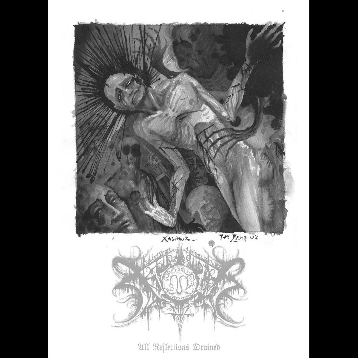 Review for Xasthur - All Reflections Drained