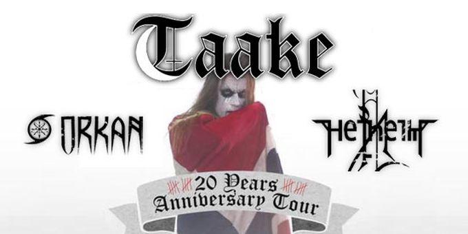 Taake announce european tour
