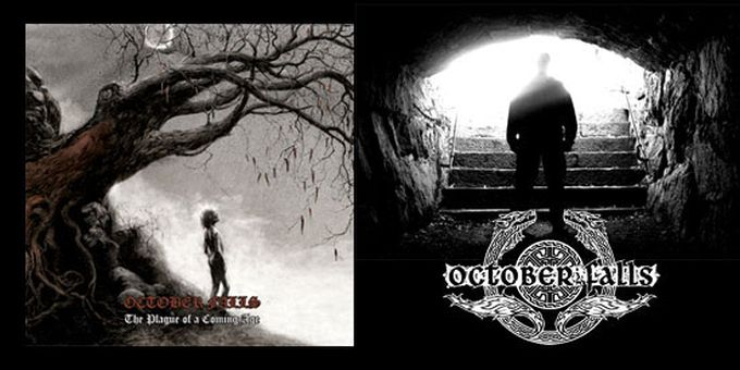 Another October Falls song online