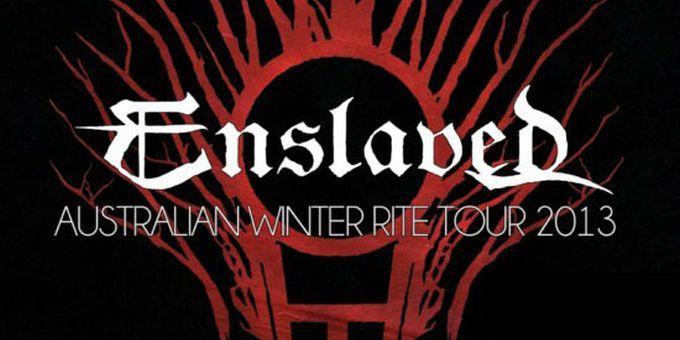 Enslaved announce Australian tour in June