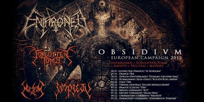Enthroned announce European tour