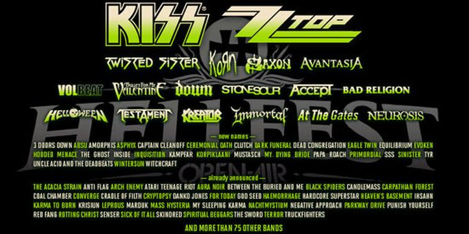 Hellfest 2013 reveals remaining bands