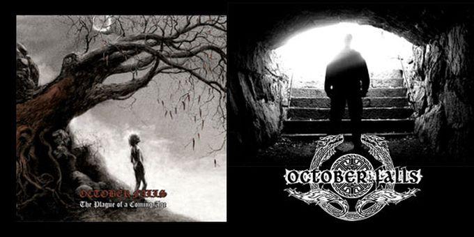 New October Falls song online