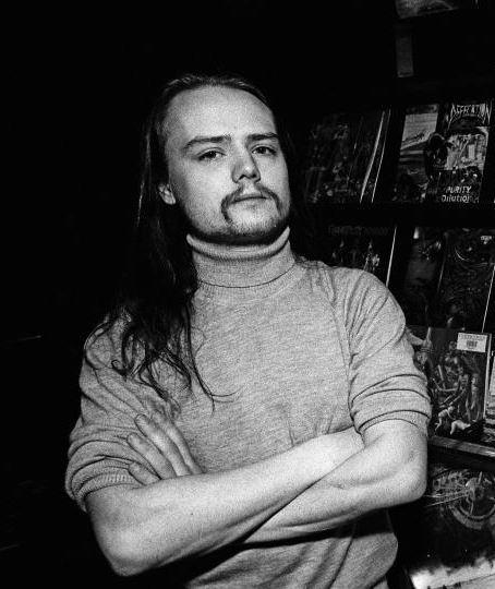 """Øystein """"Euronymous"""" Aarseth, guitarist and co-founder of Mayhem, was killed by Varg Vikernes."""