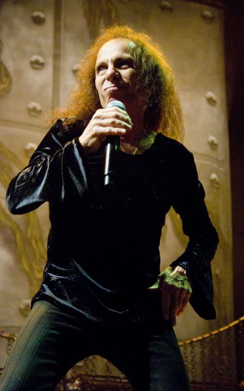 Legendary singer Ronnie James Dio passed away from stomach cancer, aged 67.