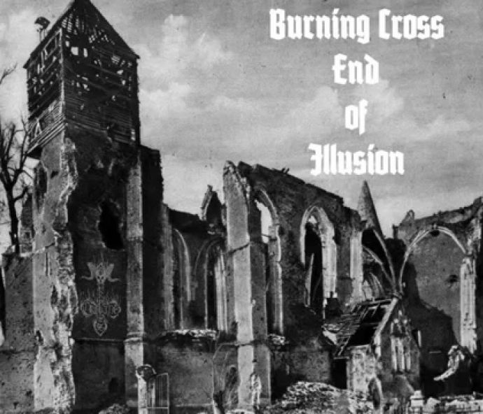 burning cross end of illusion