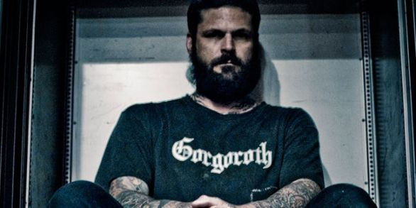 """Jef """"Wrest"""" Whitehead of Leviathan fame, a major figure in the US Black Metal scene."""
